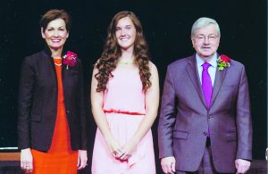 Boothe Recognized by Governor Branstad for Academic Excellence