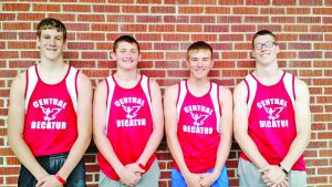 State Champions, Class 2A, Shuttle Hurdle Relay