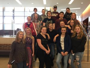17 CD Students Attend Graceland Vocal Day