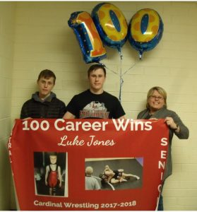 Jones Gets 100th Career Win