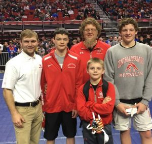 Three Cardinal AAU Wrestlers Bring Home Hardware