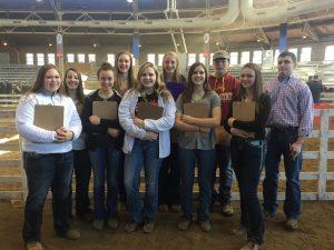 Iowa Pork Congress Youth Judging Contest