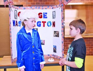 CD 3rd Graders Learn About History in a Fun and Interactive Way
