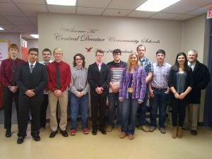 CD Entrepreneurship Students Participate in Business Plan Contest at Graceland